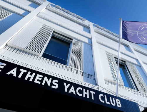 Athens Yacht Club Anchors at Victoria Street